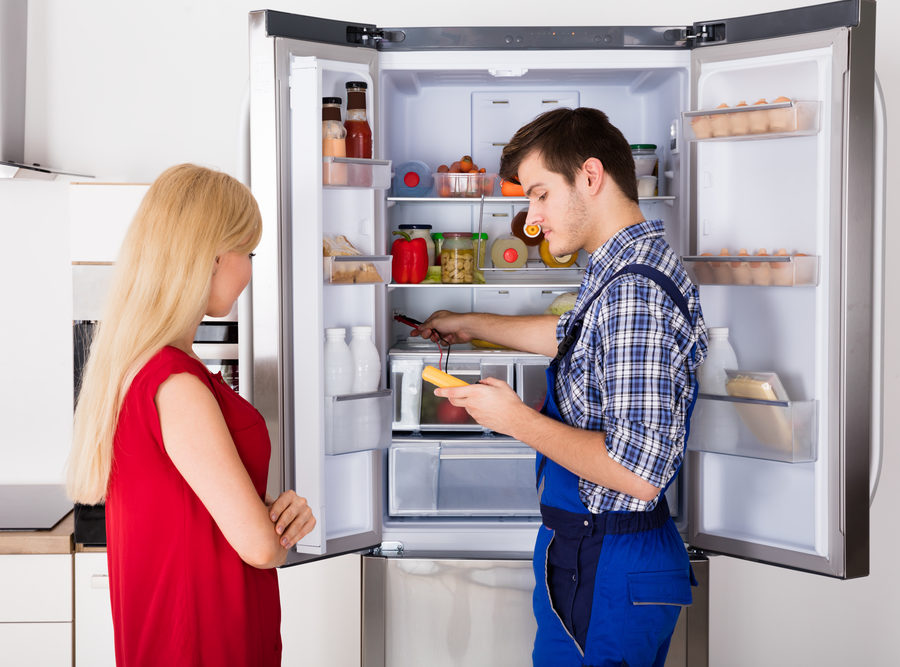 single door fridge repair